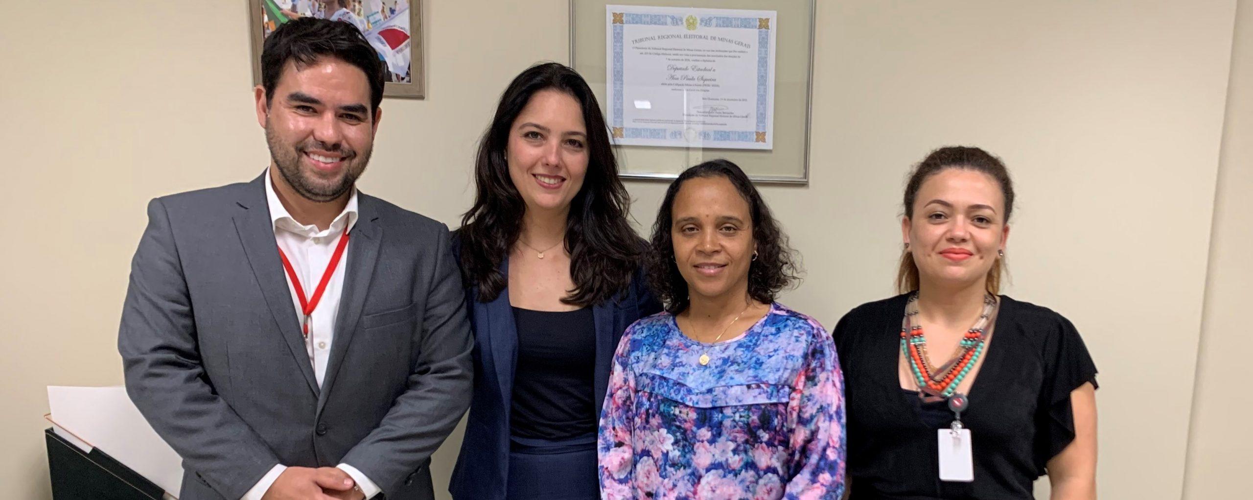 Agência RMBH participa de reunião sobre PL 211/2019 com a deputada Ana Paula Siqueira