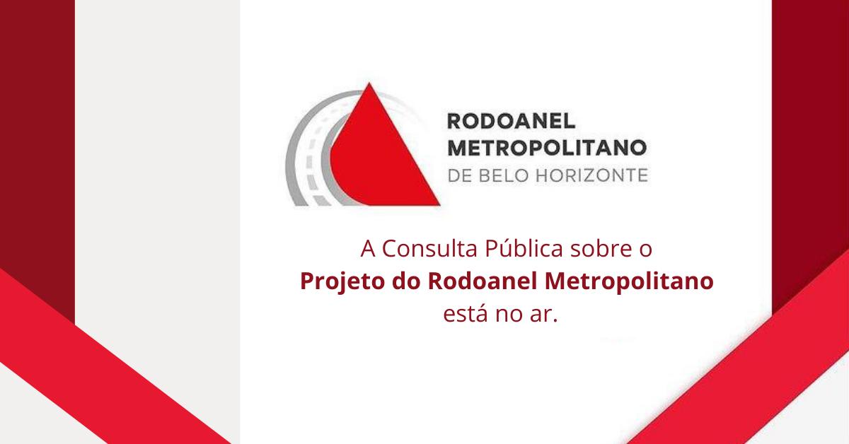 Governo de Minas lança Consulta Pública sobre o Rodoanel Metropolitano